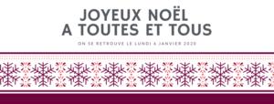 Congés Noel 2019