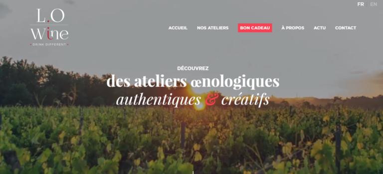 Lo Wine atelier oenologique Bordeaux