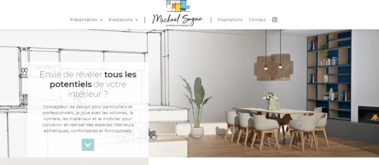 Site web Mickael Sagne